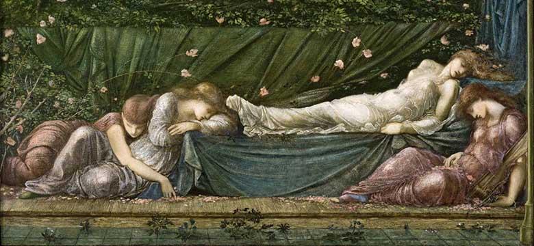 Schlafen und Schnupfen